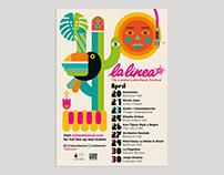 LA LINEA 18 poster The London Music Festival