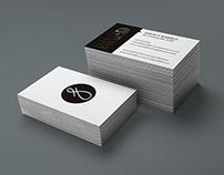David F. Barruz Logo and Business Card Design