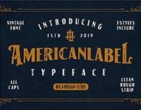 American Label Vintage