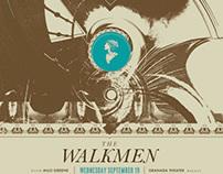 The Walkmen - Gigposter for The Granada in Dallas