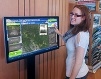 Northern Rockies - Interactive Information Kiosk