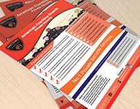 Private Security Services Comapny Flyer
