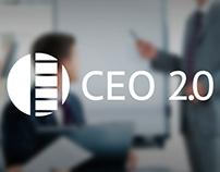 Логотип бизнес-коучингового проекта«CEO 2.0»