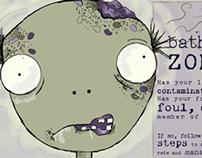 Zombie Public Service Announcement Poster
