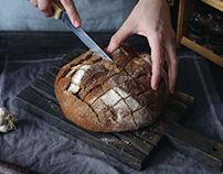 garlic bread / cinemagraphs / animated photograpy