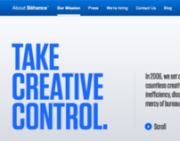 About Behance 2012