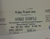 Avenged Sevenfold Concert in Singapore