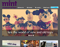 Mint Museum Website Design