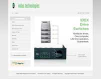 Indus Technologies Website