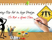 Using Clip Art in Logo Design Is Not a Good Idea
