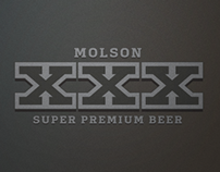 Molson XXX Re-Design