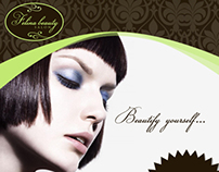 Brochure for Felina Beauty Salon (Work Exam)