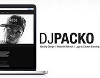 DJ PACKO Rebrand