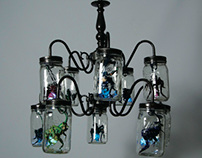 Lighting Insects Chandelier