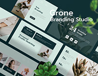 Grone - Branding Studio Presentation Template