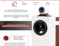 Onda Ligera acoustic systems