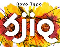 Sjiq, a new typeface by Novo Typo