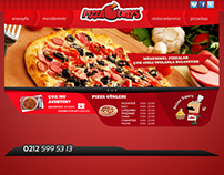 Pizzadays / Freetime Interface Design