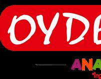 Oydem Kids Dil Okulları Logo Çalışması