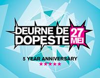 Vormgeving Festival Deurne De Dopeste 2012