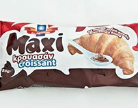 Package design: Maxi croissants