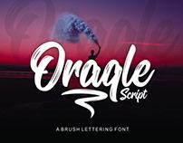 ORAQLE SCRIPT - FREE FONT