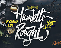 Humblle Rought Typeface