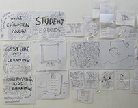 Wimbledon College of Art STEAM conference live drawing