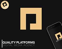 QP Digital Media - Logo Concept & Branding.
