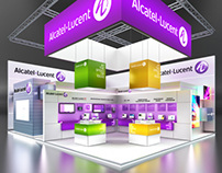 ALCATEL LUCENT Exhibition stand @ CSTB 2012