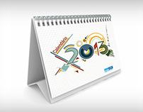 Calendário 2013 do STF