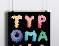 TYPOMANIA // TYPOGRAPHICAL POSTER