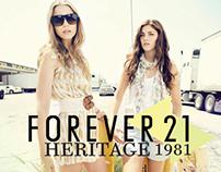 Forever 21 : Heritage 1981 Promotional Brochure