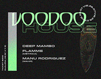 VOODOO HOUSE -PARTY FLYER-