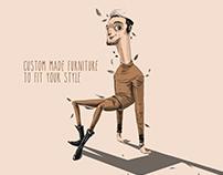 Barkod İç Mimarlık Print Campaign