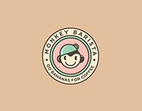 Monkey Barista | Logo Design