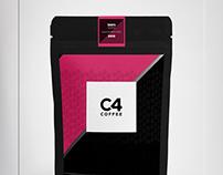 C4-Coffee Brand&Identity - Product Label