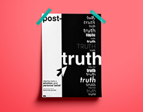 """Post-truth"" word of the year 2016 - POSTER"