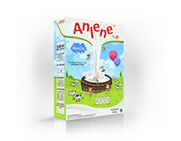 Anlene Kids Packaging