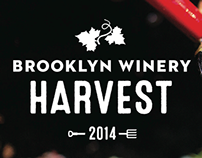 Brooklyn Winery Harvest Branding