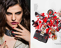 Beauty Editorial for Verve Magazine