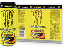 Monster Energy -Rossi 3D Can design