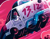 Gig Poster: Temporada de Tormentas