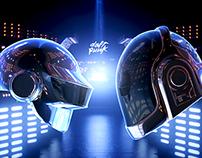 Daft Punk helmet 3D