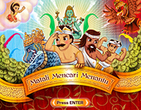 Matali Mencari Menantu Illustration Series