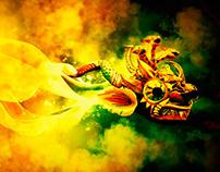 El Diablo, EL Moreno y La Chola
