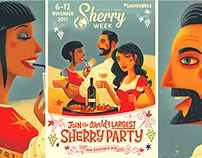 Sherry Week Poster