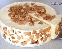 cách làm bánh Mousse sầu riêng– DURIAN MOUSSE CAKE