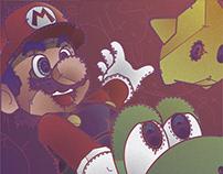 Super Mario Bros | Desoqp Ink