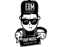 EDM Trap character design